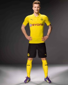 Marco Reus Sporting The UCL 14/15 Kit